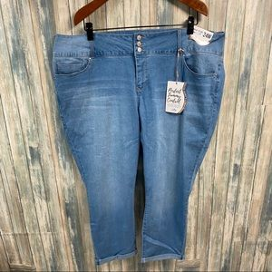 YMI Royalty Plus Jeans 24 W Curvy Tummy Control